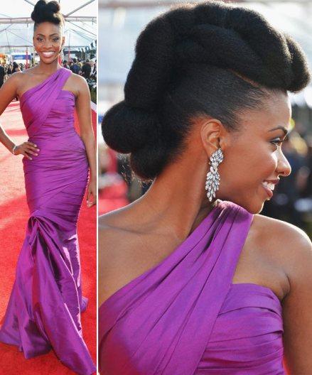Teyonah-Parris-SAG-Dress-Hair