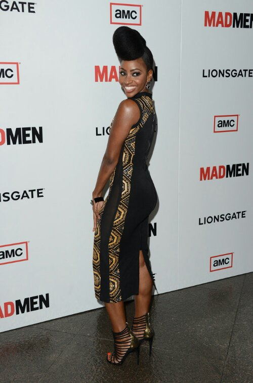 Another Fierce Updo from Teyonah Parris!